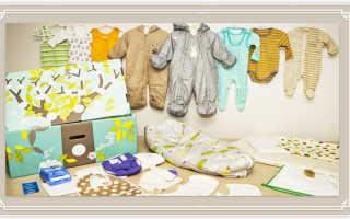 Что из одежды покупать новорожденным