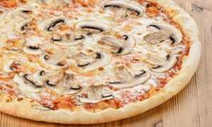 Пицца с грибами: особенности приготовления