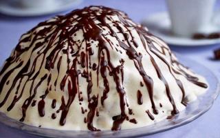 """Сметанный торт """"Панчо"""" для любителей вкусненького"""