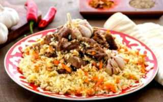 Плов узбекский: рецепт приготовления