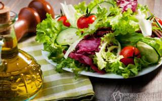 Салаты с растительным маслом: легко, вкусно и полезно