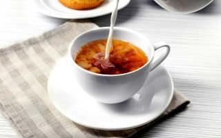 Чай с молоком: польза и вред