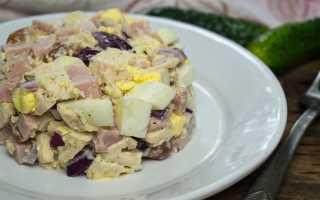 Мужской каприз: салат, рецепт