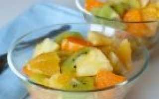 Фруктовый салат: самые популярные рецепты с фруктами