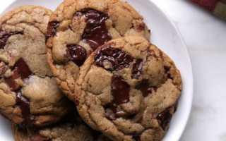Печенье шоколадное: рецепт приготовления