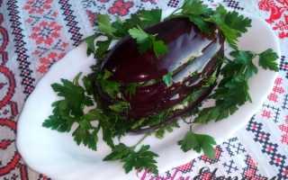 Баклажаны маринованные с чесноком: рецепт приготовления