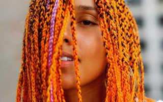Африканские косички: как их плести