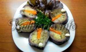 Маринованные баклажаны с морковкой своими руками