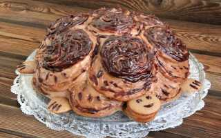 Торт Черепаха со сметаной – рецепт классический