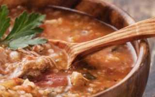 Суп харчо в мультиварке: рецепт приготовления