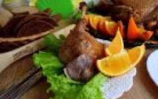 Утка домашняя: рецепт приготовления сытного блюда