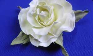 Как приклеить заколку к цветку из фоамирана, мастер – класс с фото, пошагово