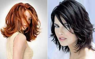 Каскад стрижка на средние волосы: рекомендации
