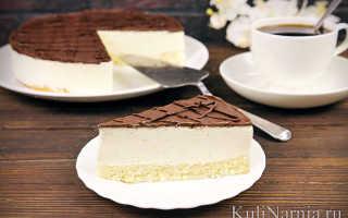 Птичье молоко – торт, который легко приготовить в домашних условиях