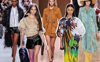 Модные аксессуары сезона весна-лето 2020