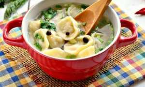 Суп с пельменями: рецепт приготовления
