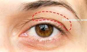 Макияж глаз с нависшим веком: омолаживающий эффект