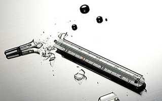 Что делать, если разбился градусник с ртутью?