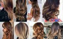 Шатуш волос: на темные, русые, средние, короткие, прямые – окрашивание, фото до и после