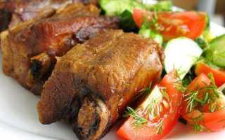 Ребра свиные: рецепт приготовления