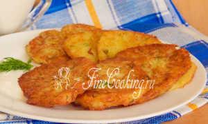 Оладьи из кабачков и картофеля: рецепты приготовления