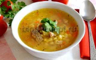 Гороховый суп со свининой: рецепт приготовления
