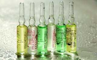 Ампулы от выпадения волос: комплексы витаминов и минералов