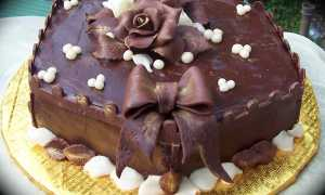 Шоколадный торт: главное украшение праздничного стола