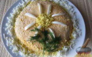 Cалат из печени трески – рецепт приготовления