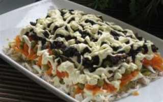 Пражский салат: рецепт