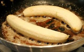 Жареные бананы: варианты приготовления для детей