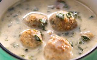 Сырный суп с фрикадельками: рецепт нежнейшего первого блюда