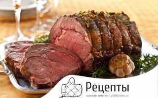 Мясо запеченное в фольге – рецепт приготовления