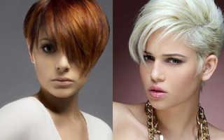 Ассиметричные стрижки на короткие волосы для любого типа лица