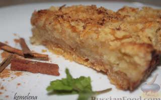 Пирог с манкой и яблоками: удивите всех своим мастерством!