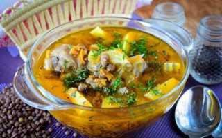 Суп из чечевицы: рецепт простой, быстрый и вкусный