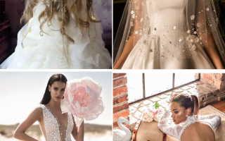 Свадебные платья 2020 – для самых модных невест