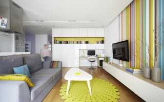 Дизайн маленьких квартир: правила решения