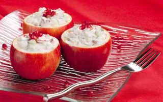 Салат с яблоками и курицей – полезно и очень вкусно!