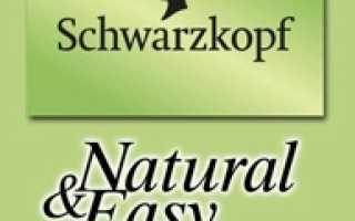 Шварцкопф краска для волос Natural Easy: палитра цвета