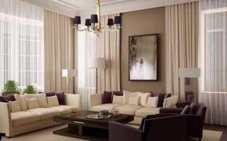 Шторы для гостиной своими руками: ткань, занавески в гостиную