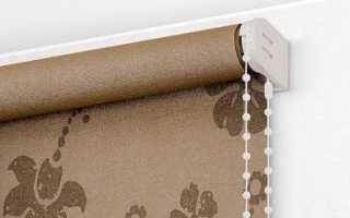 Как стирать рулонные шторы из ткани