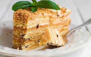 Торт Медовик со сметанным кремом: вкусно и просто