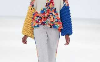Вязаные модные вещи 2020: женские предпочтения
