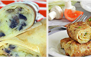 Блины постные: рецепт русской кухни, ингредиенты, начинки