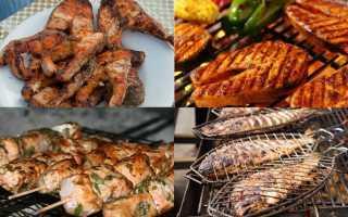 Шашлык из рыбы – рецепт приготовления