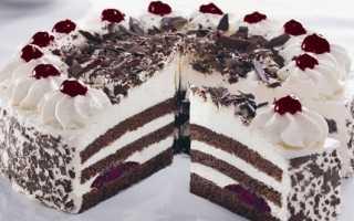 Торт черный лес: рецепт приготовления
