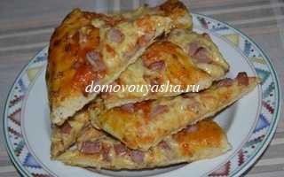 Пицца с колбасой и сыром: рецепты приготовления в домашних условиях