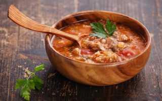 Суп харчо – рецепт приготовления