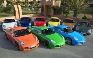 Как выбрать цвет машины?